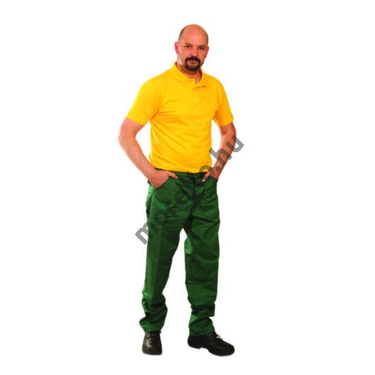 ECOgreen derekas nadrág, zöld