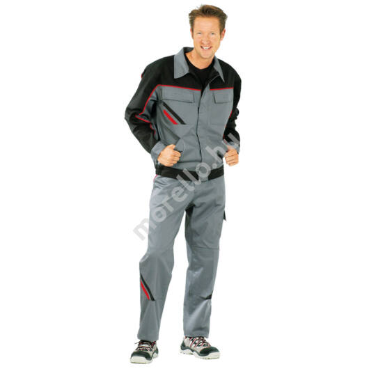 Highline dzseki, szürke/fekete, 65% poliészter, 35% pamut