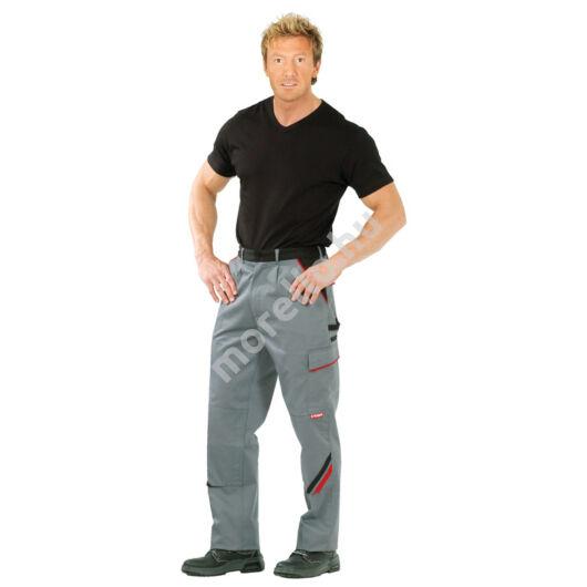 Highline derekas nadrág, szürke/fekete, 65% poliészter, 35% pamut
