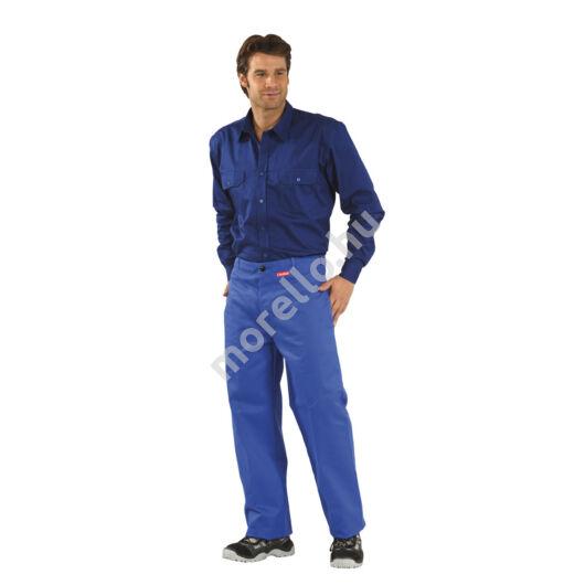 Hegesztő derekas nadrág, búzakék, 360 gr/m2
