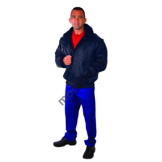 Rock pilóta dzseki, sötét kék