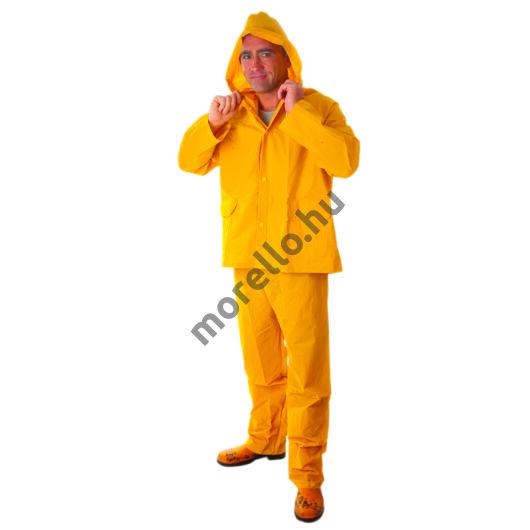PVC esőöltöny, sárga