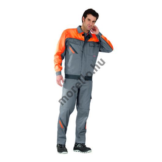 Visline dzseki, szürke / narancssárga