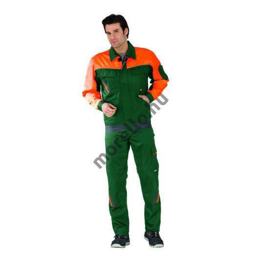 Visline V1 dzseki, zöld/ narancssárga