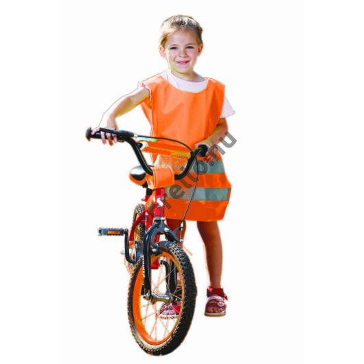 Megkülönböztető mellény gyermekek részére,narancssárga