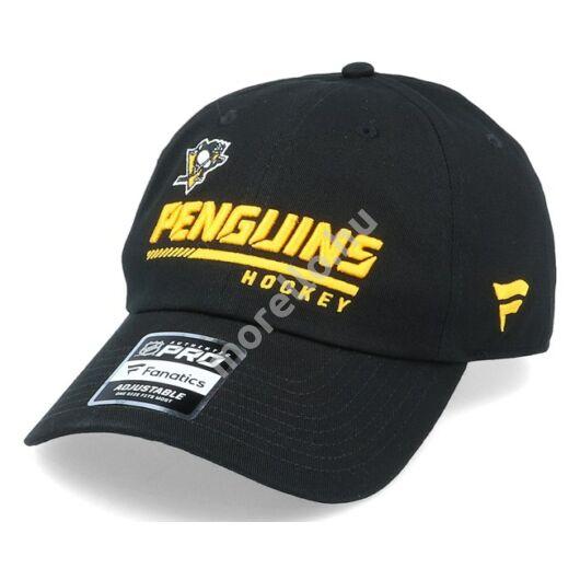 Pittsburgh Penguins Authentic Pro Locker Room Unstructured Adjustable Cap Black-OS