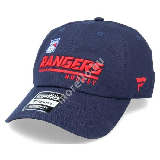 New York Rangers Authentic Pro Locker Room Unstructured Adjustable Cap Navy-OS