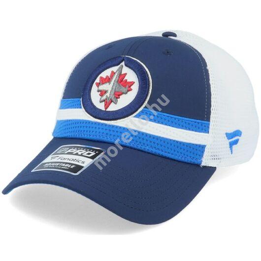 Winnipeg Jets Authentic Pro Draft Structured Trucker Cap Team-OS