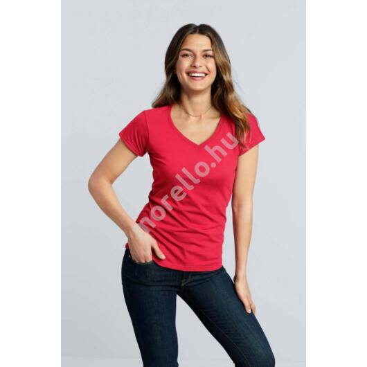 Softstyle® Ladiesˊ V-Neck T-Shirt