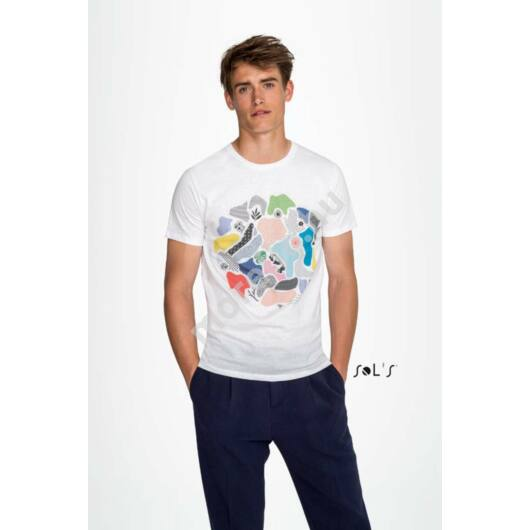 Marvin MenˊS Round-Neck Fitted T-Shirt