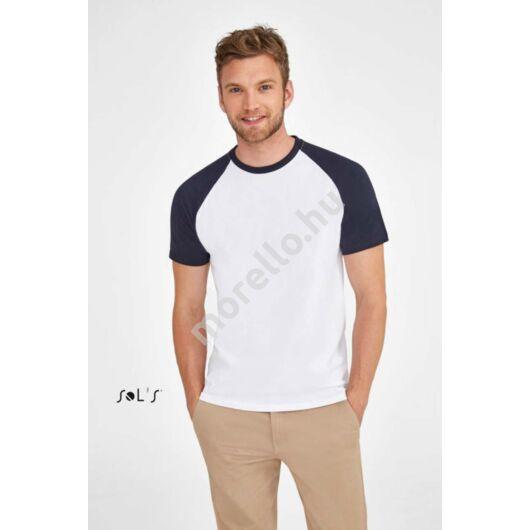 Funky MenˊS 2-Colour Raglan Sleeves T-Shirt