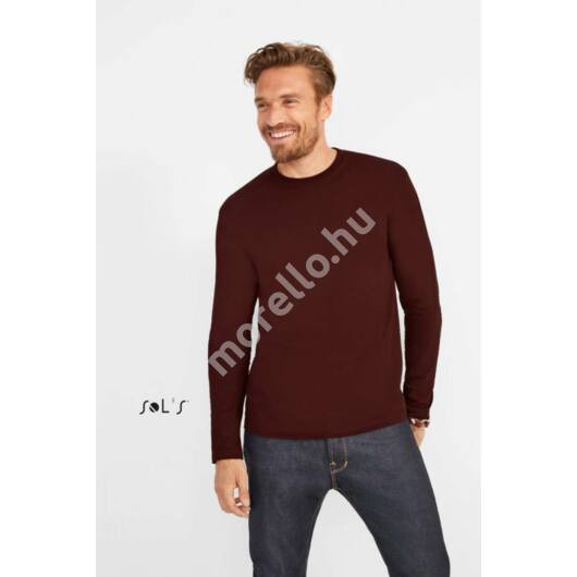 Monarch MenˊS Round Collar Long Sleeve T-Shirt