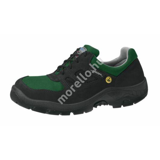 1122 ABEBA-ANATOM  S1, Src Esd fekete-zöld Munkavédelmi Cipő 36-50