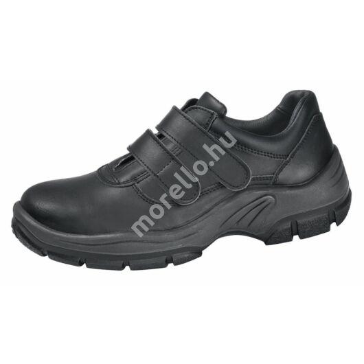 2232 ABEBA-PROTEKTOR LINE S3 Tépőzáras FEKETE Munkavédelmi Cipő